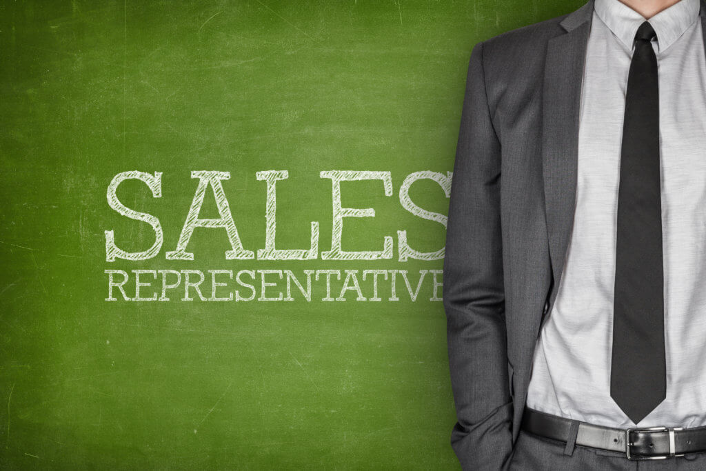 Sales Representative in suite